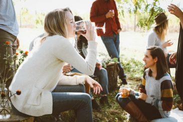 sociaal alcohol drinken